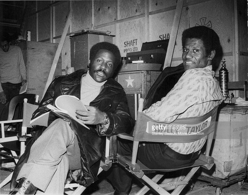Richard Roundtree & Wally Taylor