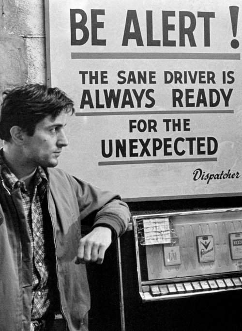 On-Set: Taxi Driver (M Scorsese)