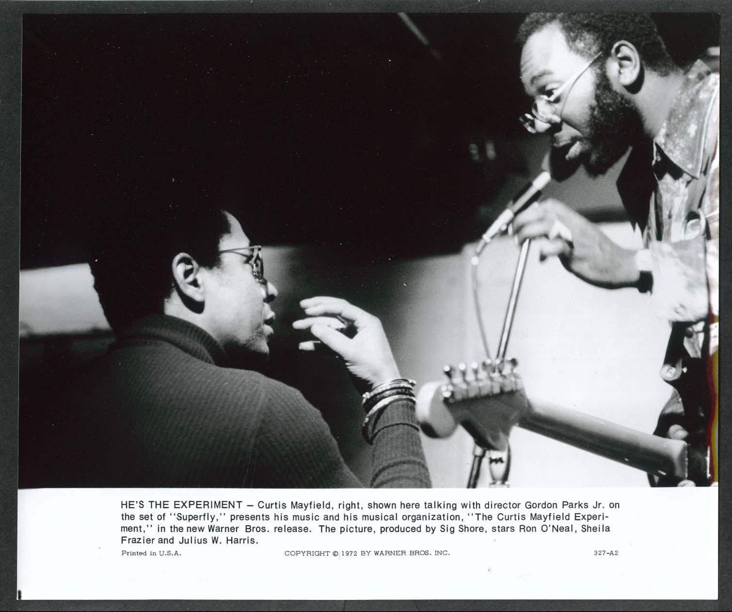 Gordon Parks & Curtis Mayfield