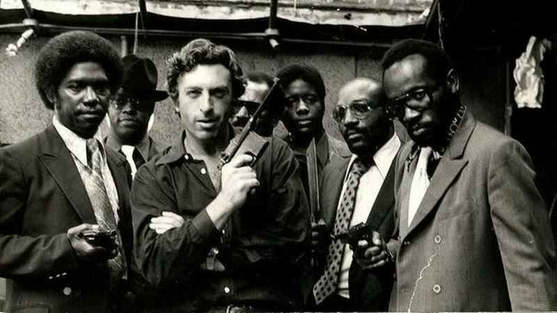 Larry Cohen & his cast