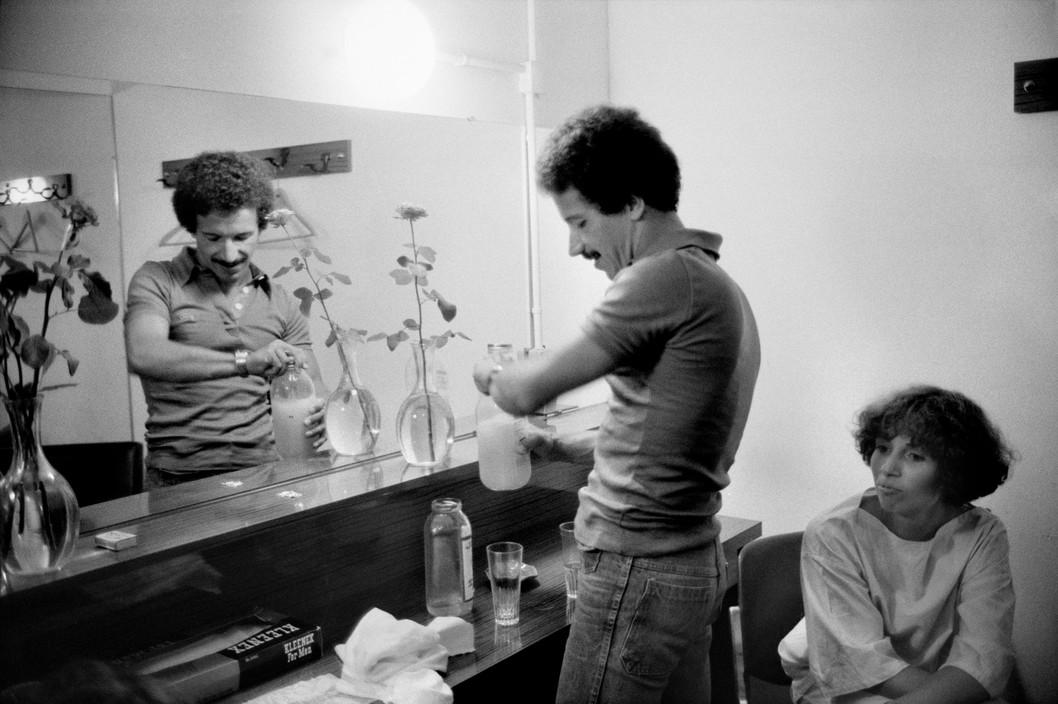 Keith Jarrett & wife