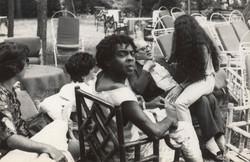 Gil with Fellini
