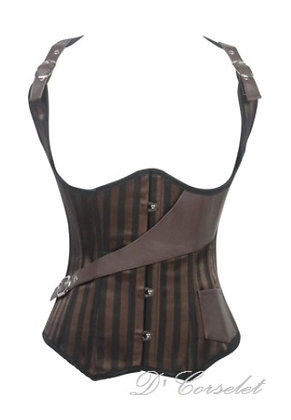 B1510 Brown Steampunk Vest
