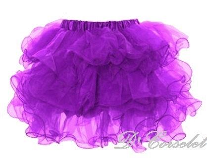 A3-D Purple Ruffled Tutu