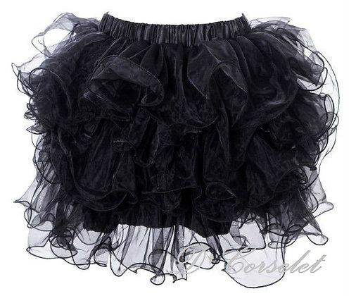 A3 Black Ruffled Tutu