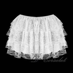 F7207 White Wonderskirt