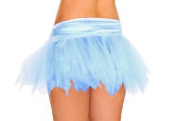 A6-D Blue Mini Petticoat