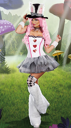 White Rabbit costume - Halloween