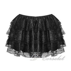 F7205 Black Lace Wonder Skirt