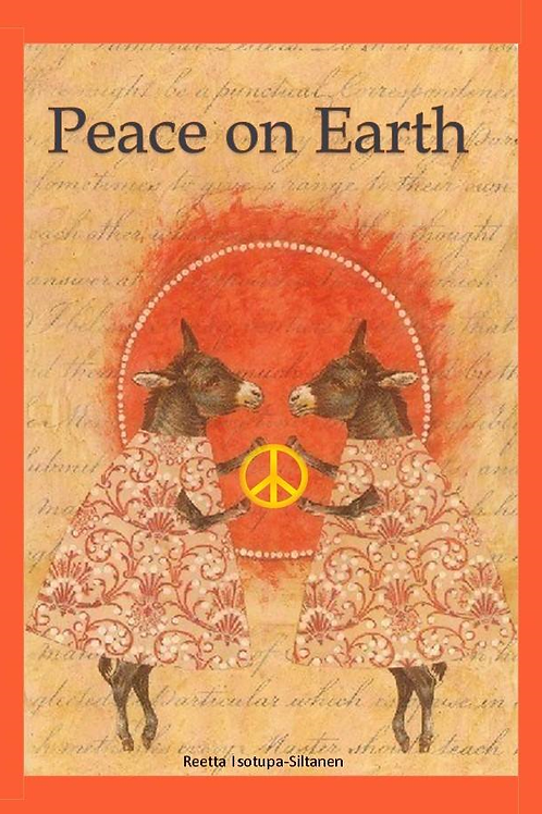 Peace Donkey Card Pack (8)