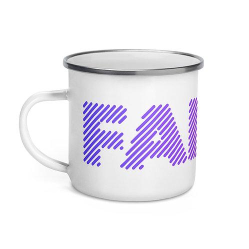 FANTM Enamel Mug