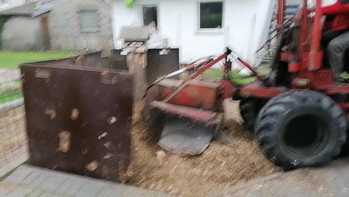 Baumwurzelfräse 160 PS