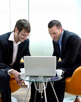 due uomini d'affari