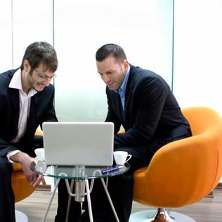 deux hommes d'affaires