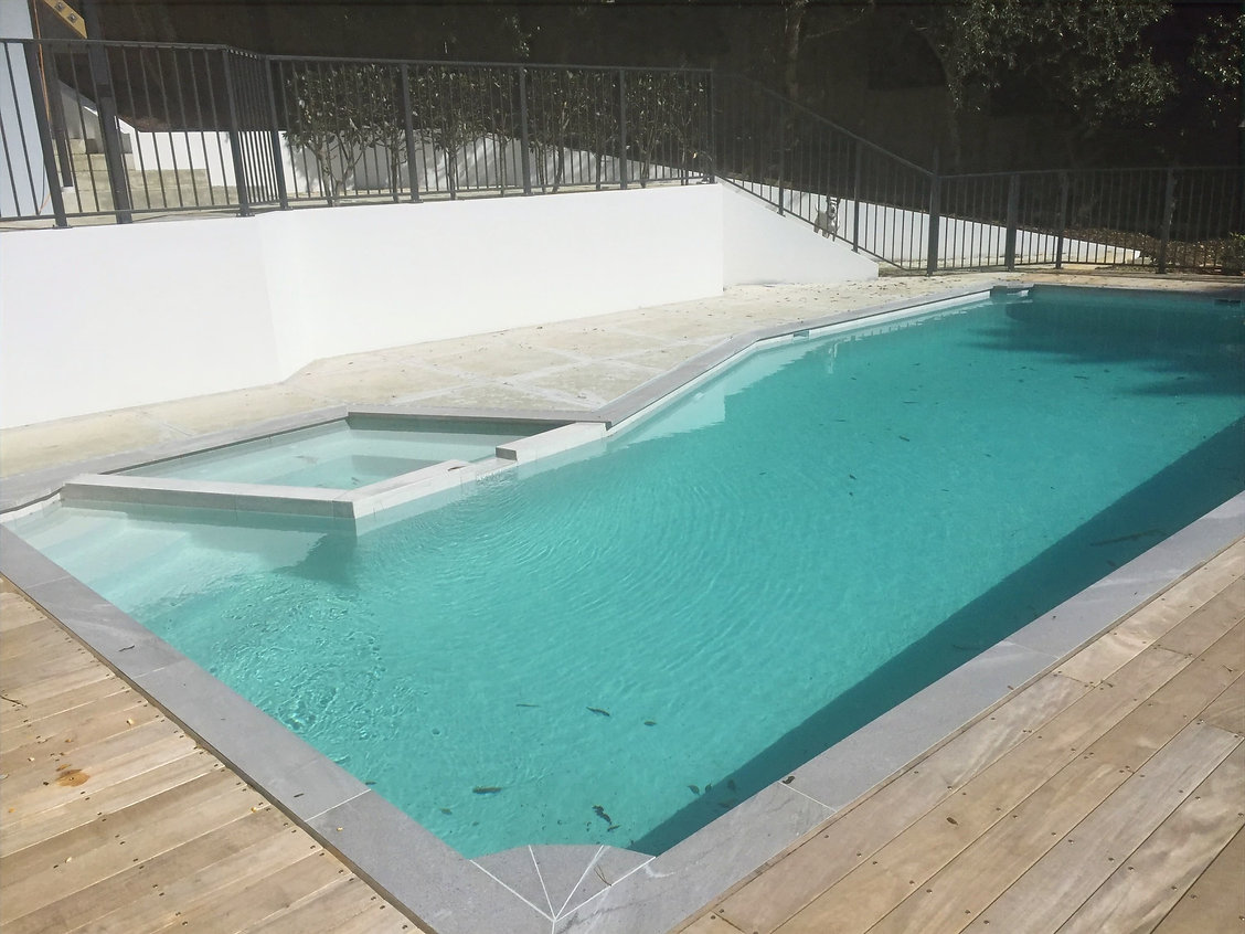 Swimming Pool and Spa combination