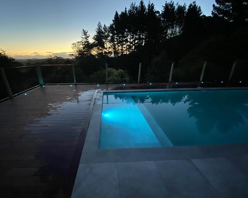 Majestic Pool lights