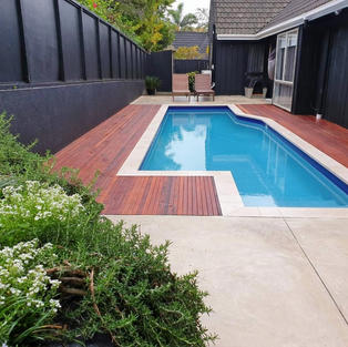 POOL SIDE LANDSCAPING