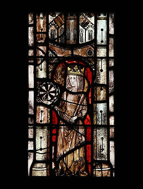 Stained glass, Kingerby, Lincs