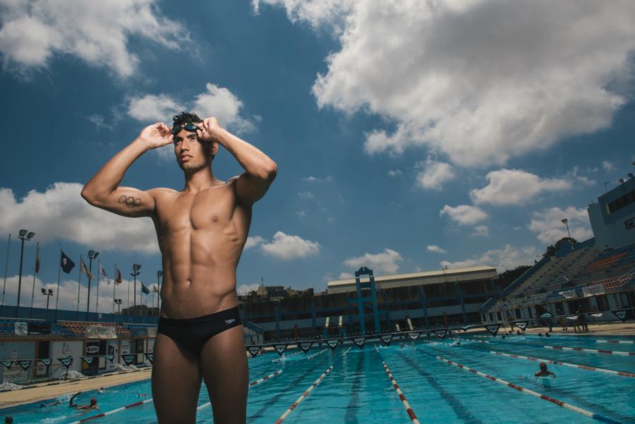 Olympic Swimmer Andrew Chetcuti