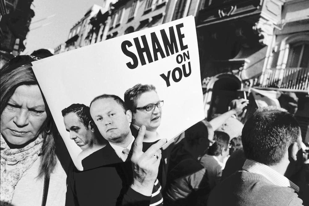 Protests Malta