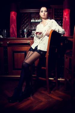 Champagne bar Vida Magazine