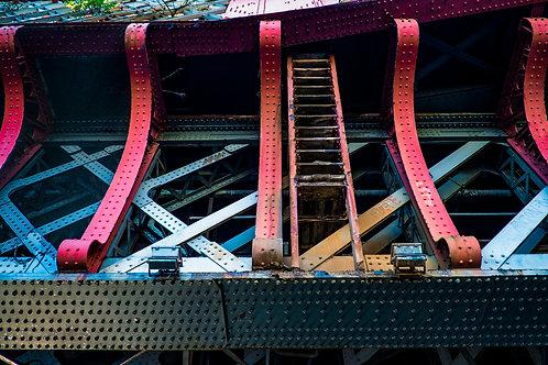 Glasgow Bridge (A3 Print)