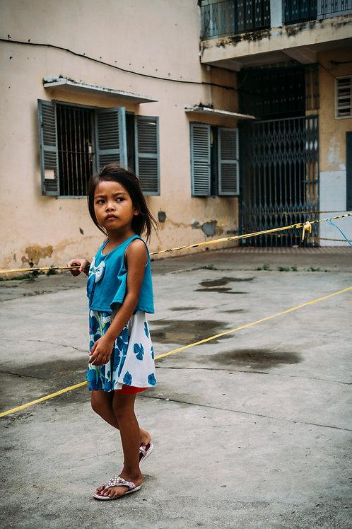 Phnom Penh : The Struggling Smiles #11 Framed