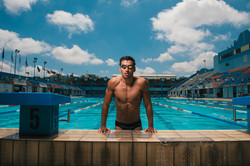 Local Olympic Swimmer