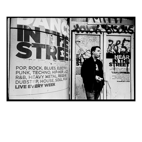 In the Streets ( Silver-Gelatin Print )