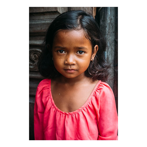 Young Resident of the Slums of Phnom Penh
