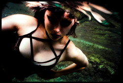 Underwater with Nat
