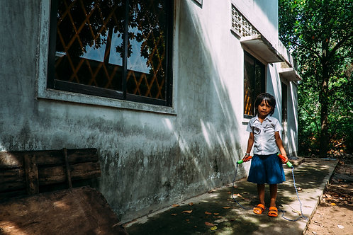 Phnom Penh : The Struggling Smiles #09 Framed