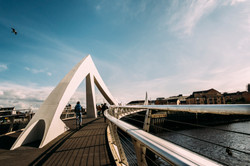A bridge in Glasgow