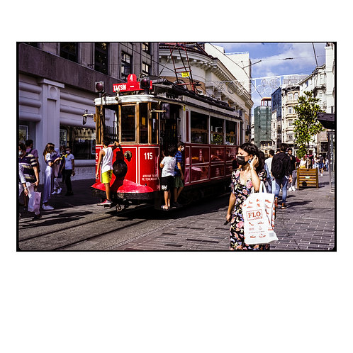 Istanbul Funicular ( A3 Print )