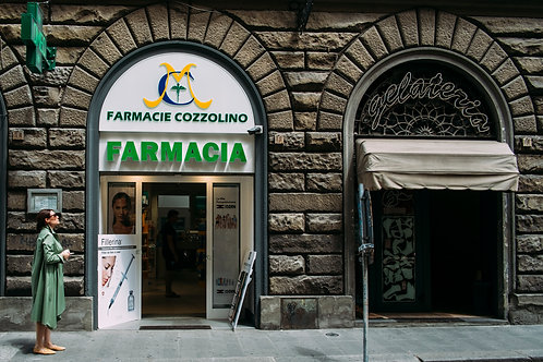 Pharmacy in Florence ( A3 Print )