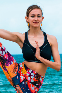 Yoga with EBM Magazine