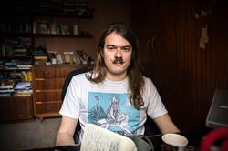 Local Writer Teodor Reljic