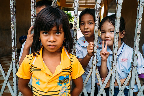 Phnom Penh : The Struggling Smiles #01 Framed