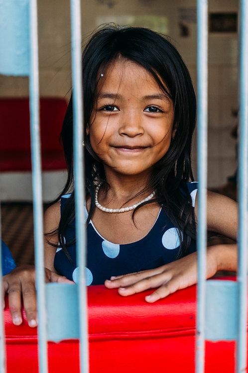 Phnom Penh : The Struggling Smiles #05 Framed