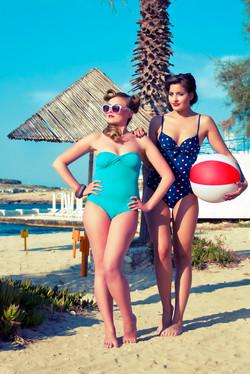 Beach shoot Vida Magazine