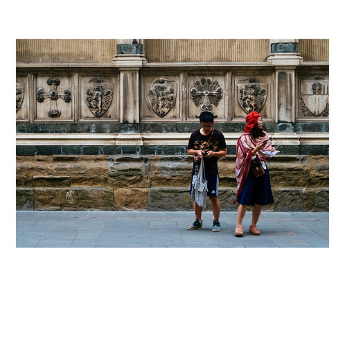 Astray in Florence ( A3 Print )