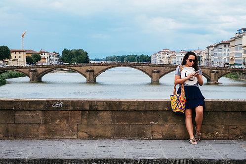 Bridge in Florence ( A3 Print )