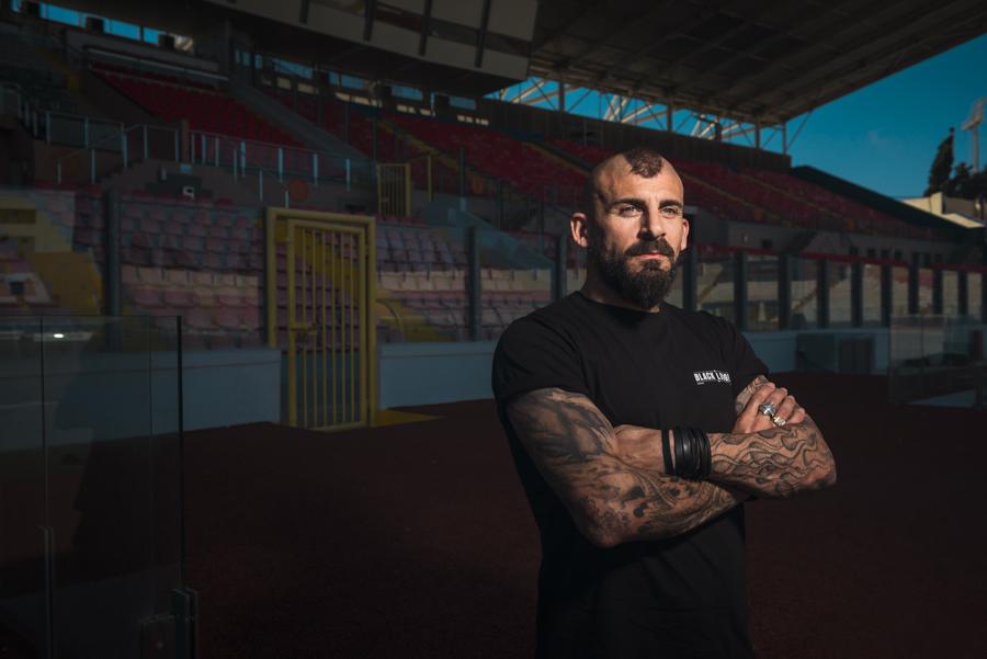 Footballer Luke Dimech