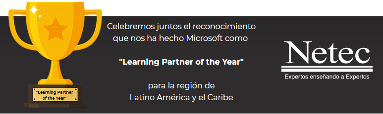 Micrososft Learning Partner of the Year 2020
