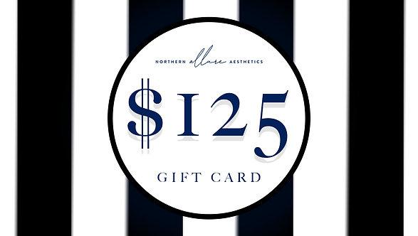 Northern Allure Aesthetics $125 Gift Card