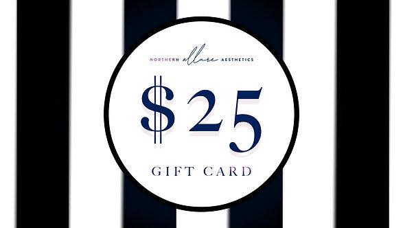 Northern Allure Aesthetics $25 Gift Card