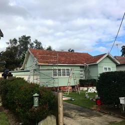 Before Metal Re-roof