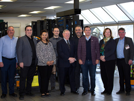Mayor Patrick Brown, City Councillors & Staff Stop By BMP Metals Inc.