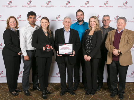 ClimateWorx wins the 2017 Ontario Export Award for Global Reach
