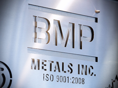 BMP Metals Inc. Wins 2011 BBoT Award for Advanced Manufacturing